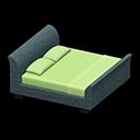 Animal Crossing New Horizons Gray Rattan Bed