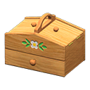 Image of Sturdy sewing box