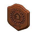 Animal Crossing New Horizons Bronze HHA Plaque Image