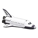 Animal Crossing New Horizons Space Shuttle Image