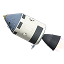 Animal Crossing New Horizons Crewed Spaceship Image