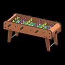 Animal Crossing New Horizons Foosball Table Image
