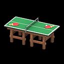 Animal Crossing New Horizons Tennis Table
