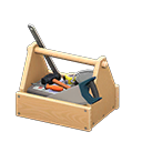 Animal Crossing New Horizons Wooden Toolbox Image