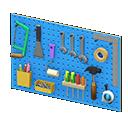 Main image of Wall-mounted tool board