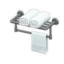 Image of Bathroom towel rack