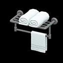 Animal Crossing New Horizons Bathroom Towel Rack Image