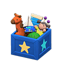 Animal Crossing New Horizons Blue Toy Box