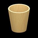 Image of Wooden waste bin