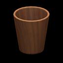 Main image of Wooden waste bin