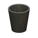 Image of Wooden waste bin