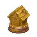 Animal Crossing New Horizons Gold HHA Trophy Image