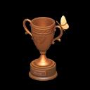 Image of Bronze bug trophy