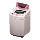 Animal Crossing New Horizons Pink Automatic Washer