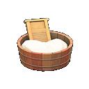 Animal Crossing New Horizons Old-fashioned Washtub