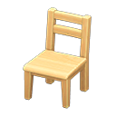 Animal Crossing New Horizons Wooden Chair