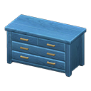 Animal Crossing New Horizons Blue Wooden Chest