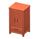Image of Wooden wardrobe