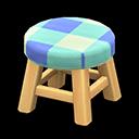 Animal Crossing New Horizons Light wood Wooden Stool