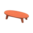 Animal Crossing New Horizons Cherry wood Wooden Low Table