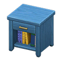 Animal Crossing New Horizons Blue Wooden End Table