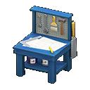 Animal Crossing New Horizons Blue Mini DIY Workbench
