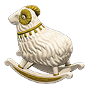 Animal Crossing New Horizons Aries Rocking Chair Image