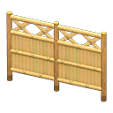 Image of Bamboo lattice fence