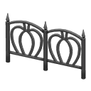 Animal Crossing New Horizons Spooky Fence Image