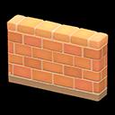 Animal Crossing New Horizons Brick Fence Image