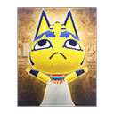 Animal Crossing New Horizons Ankha's Poster Image