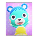 Animal Crossing New Horizons Bluebear's Poster Image