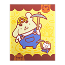 Animal Crossing New Horizons Pompompurin Poster Image