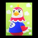 Animal Crossing New Horizons Benedict's Poster Image