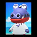 Animal Crossing New Horizons Del's Poster Image