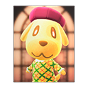 Animal Crossing New Horizons Goldie's Poster Image