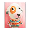 Animal Crossing New Horizons Bones's Poster Image