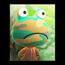 Animal Crossing New Horizons Camofrog's Poster Image