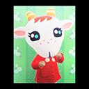 Animal Crossing New Horizons Chevre's Poster Image