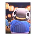 Animal Crossing New Horizons Wade's Poster Image