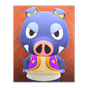 Animal Crossing New Horizons Boris's Poster Image