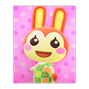 Animal Crossing New Horizons Bunnie's Poster Image