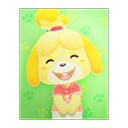 Animal Crossing New Horizons Isabelle's Poster Image