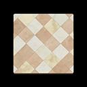 Animal Crossing New Horizons Brown Argyle-tile Flooring Image