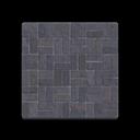 Image of Black-brick flooring