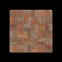 Animal Crossing New Horizons Brown-brick Flooring Image