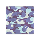 Animal Crossing New Horizons Blue Camo Flooring Image
