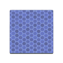 Animal Crossing New Horizons Blue Honeycomb Tile Image