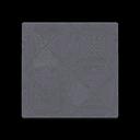Image of Black iron-parquet flooring