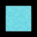 Image of Aqua tile flooring